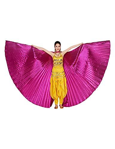 Zhhlaixing Damen Frauen Bauchtanz Flügel Belly Wings - Ägyptische Engel Isis Kostüm 360 Grad Halloween Spaß Party Leistung Tanzen Zubehör Kostüme ()