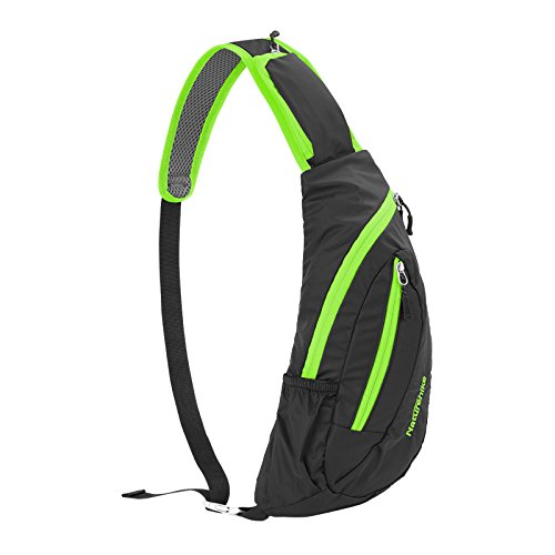 Wasserdicht-Schultertaschen-Outdoor-Chest-Bag-Camping-Bosom-BagGreen