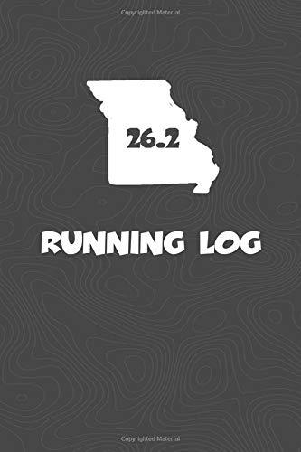 Running Log: Blank Lined Journal for anyone that loves Missouri, running, marathons! por KwG Creates