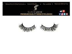 SuaveLook Exclusive Natural Eyelashes 100% Hand-made Lashes 1 Pair Package [Model NM16]
