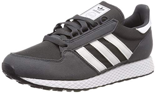 adidas Unisex-Kinder Forest Grove J Fitnessschuhe, Grau (Grey Six/Ftwr White), 37 1/3 EU (4.5 UK)