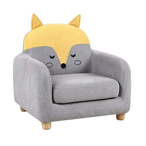 BDWY Kinder Sofa Sitz abnehmbar und waschbar Griffige Mute Pad Faul Mini Baby-Sofa,Color4