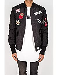 Bomber patches Sixth June noir 1422C