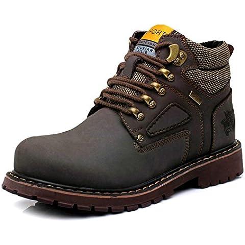 Calzado Martin/ cuero de los hombres/ Zapatos casuales de cuero/Ocio al aire libre equipo zapatos/ zapatos de hombre / agregado de algodón hombres