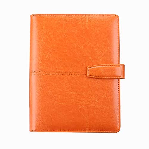 TACCUINO A5 Size Personal Organizer Planner Binder a Spirale per Notebook con 6 Pulsanti magnetici ad Anello