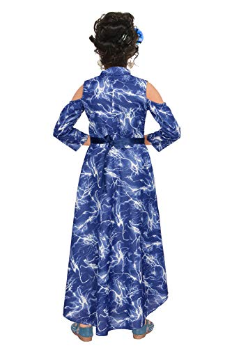 LIKE Fancy Gown for Girls (7-8 Years) Blue
