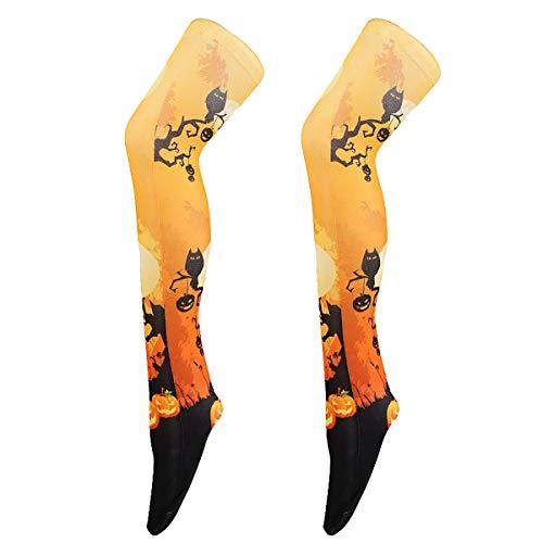 Itsy Bitsy Spider Kostüm - 13peas Halloween Leggings Strumpfhose Pantyhose 3D