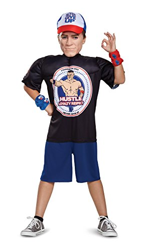 WWE John Cena Classic Muscle S 24357L-EU Multi, - Bff Girl Kostüm