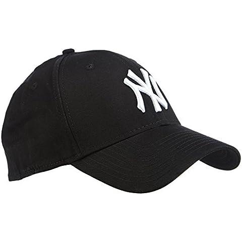 New Era NY Yankees 39 Thirty - Gorra para hombre, color negro (black/ white), talla L/XL