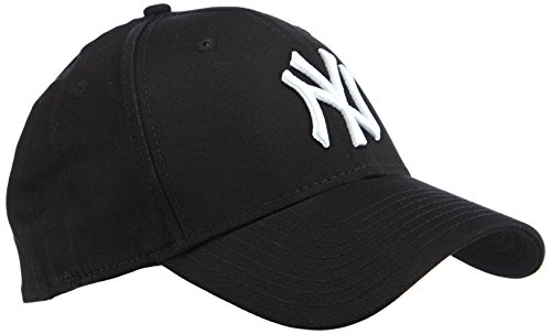 new-era-herren-baseball-cap-mutze-m-lb-basic-ny-yankees-39thirty-stretch-back-black-white-l-xl-10145