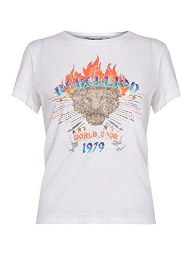 Only Shirt Dixie Rebel Bianco Bianco