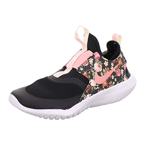 Nike Flex Runner Vintage Floral, Scarpe da Trail Running Donna, Multicolore (Black/Pink Tint White 1), 37.5 EU