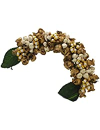 Anuradha Art Brown Metal Hair Clip For Women & Girls