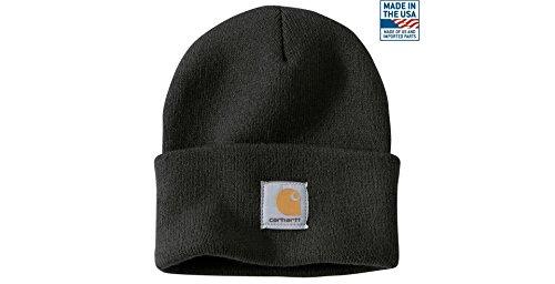 Carhartt Chapeau d'hiver/Bonnet pour Lui et Elle, OFA, 100% Acrylique, élastique, différentes Couleurs