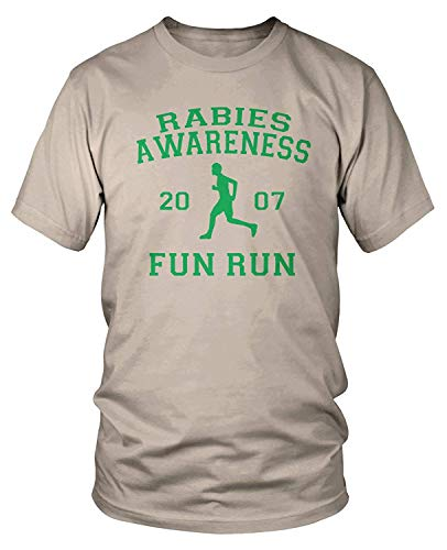 Men's The Office Rabies Awareness Fun Run 2007 T-Shirt L