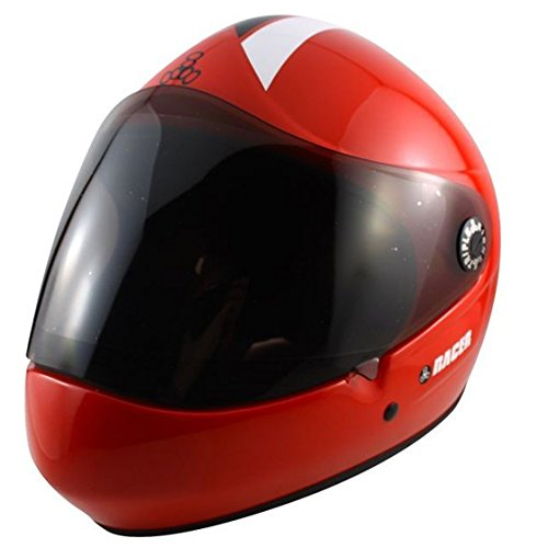 Helm Triple 8 Racer Downhill, Rot