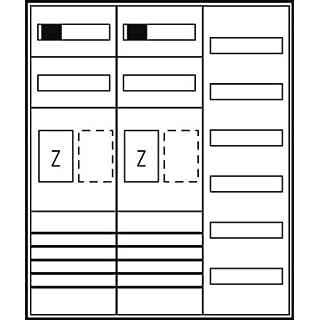 Komplettschrank ZFH/eHZ Westn.NW 2Z1V6 SH63A ES36NRW65TN