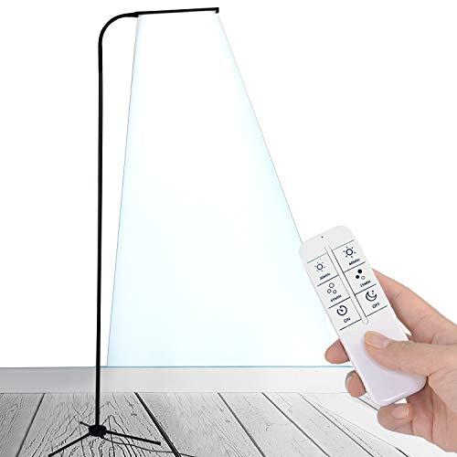 MXIN Lámparas LED, luz de Lectura LED Regulable y trípode Base Estable,...