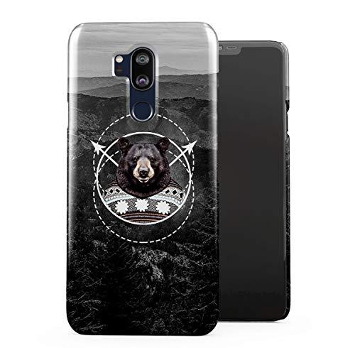 a6e011df5 DODOX Cute Brown Bear Sweater Hills Wanderlust LG G7 Snap-On Hard Plastic  Protective Shell