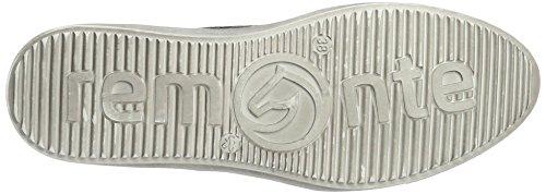 Remonte R7806, Chaussures À Lacets Pour Femmes Gris (altsilber / Graphit / 45)