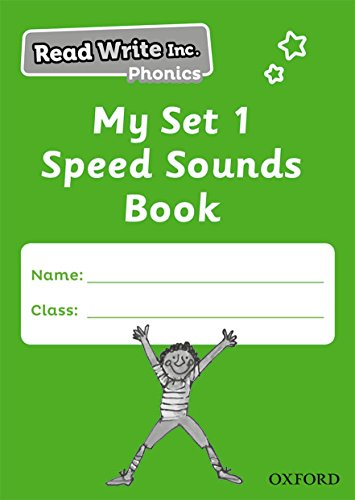 Read Write Inc. Phonics: My Set 1 Speed Sounds Book Pack of 5 -