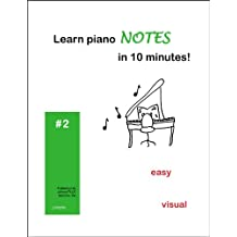 Learn piano NOTES in 10 minutes! (English Edition)