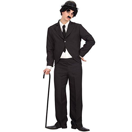 Carnival Toys 80151 - Charly, Hombres traje con sombrero y barba, XL