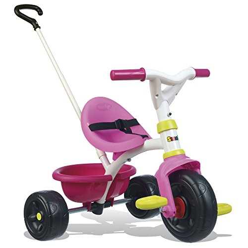 Smoby – 740322 – Tricycle Evolutif Be Fun – Rose