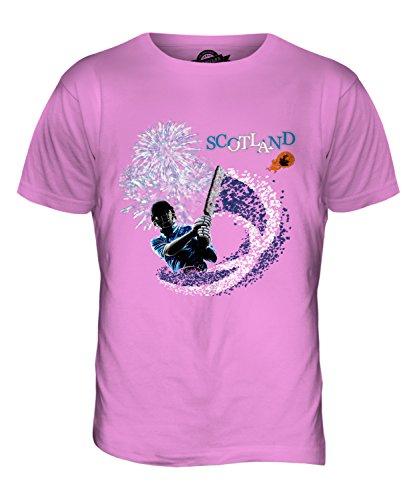 CandyMix Schottland Cricket Herren T Shirt Rosa