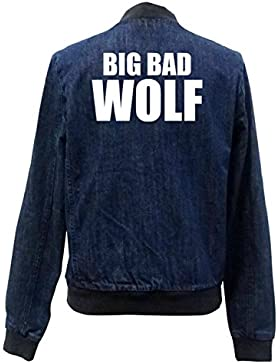 Big Bad Wolf Bomber Chaqueta Girls Jeans Certified Freak