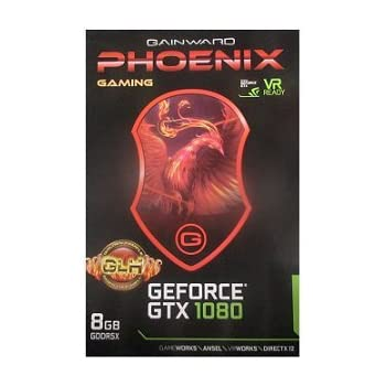 Gainward GeForce GTX1080 8GB Phoenix OC GLH (PCIe 3.0, 8GB DDR5 Speicher, HDMI, DVI, 3xDisplayPort)