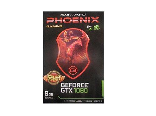 Gainward GeForce GTX1080 8GB Phoenix OC GLH (PCIe 3.0, 8GB DDR5 Speicher, HDMI, DVI, 3xDisplayPort) - Oc Pci Express