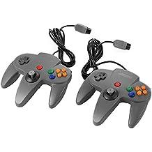 XCSOURCE® 2pz Mando a Distancia Control Remoto Gamepad Joystick Gaming para Nintendo 64 N64 - Gris AC441