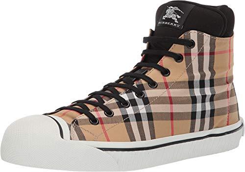 BURBERRY Herren Sneakers - Stoff (800617) EU, Beige - beige - Größe: 44 EU