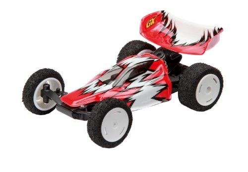 Preisvergleich Produktbild Dickie-Spielzeug 201119379 - RC GX Buggy, 2-Kanal Funkfernsteuerung, 2,4 GHz, 22km/h,  blau/weiß, rot/weiß