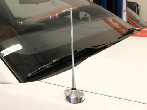 Drake Muscle Cars 5R3Z-18813-8BL Antenna 05-09 Mustang Billet 8in