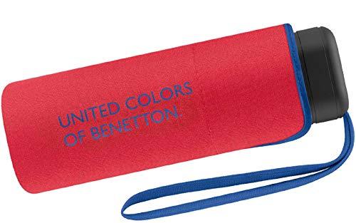 Benetton Taschenschirm Ultra Mini Flat Solid - Red