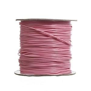 90m 1,5mm 98m Fil Cordon Coton Cire Ficelle lin ciré fil Jewelry Bracelet en Multicolore assorties Choix