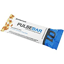 MyProtein Pre Work-Out Bar Barrita Pre-Entreno, Sabor Chocolate con Naranja - 10 Barras