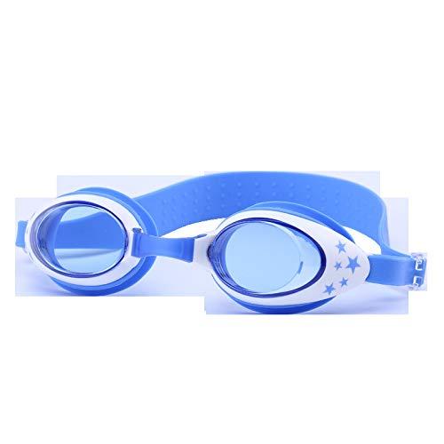 YIWAN Schwimmbrille - für Erwachsene und Kinder,Kinderbrille HD wasserdicht Anti-Fog blau