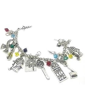 **Premium Quality** Sherlock Holmes 221B Charm Bracelets & Bangles** Limited Edition ** Fast U.K Dispatch