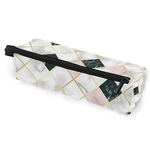 Marmor Luxus Geometrische Tragbare Brillenetui Soft Box für Frauen Mädchen Reißverschluss Sonnenbrillen Halter Pink Schwarz Weiß Stein Stifte Kosmetik Tasche Aufbewahrungstasche