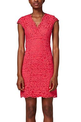 ESPRIT Collection Damen Partykleid 028EO1E030, Rosa (Pink Fuchsia 660), 38