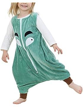 Kidslove Baby Schlafanzug Kinder Jumpsuits Overall Bauwolle Spielanzug nachtwäsche Unisex Schlafanzug Schlafsack...