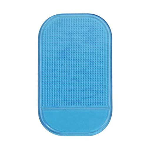 Colorful KFZ Halterung Anti Rutsch Matte, Antirutschmatte Klebematte, Anti-Rutsch Pad,Anti Slip Pad, Auto Non-Slip Matte für Handyhalterung, Mobiltelefone, Sonnenbrillen und Schlüssel (Blau)