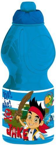 Jake and the Neverland Pirates, Borraccia sportiva, Blu (blau)