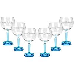 Bombay Sapphire Ballon Cocktail Glas Gläser - 6er Set Bombay Sapphire