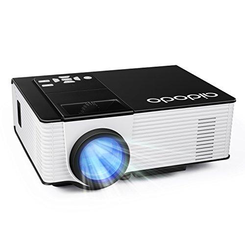 Vidéoprojecteur, OMAS Full HD 1080P 1800 Lumens LED Mini LCD...