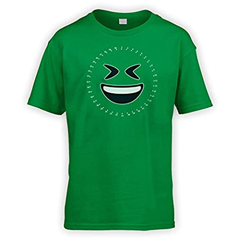 Dot to Dot LOL Emoji Kids T-Shirt [Green