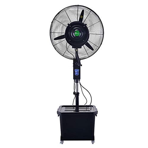 Standventilator Turbo Standventilator Luftkühler Zerstäuberlüfter Schwingturmventilator | 3 Betriebsarten 40L | Schwenkbarer Lüfterkopf | Perfekt für Homes Offices Schlafzimmer - Das Perfekte Home Office